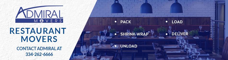 Restaurant Relocation, Restaurant Logistics, Restaurant Moving,Kitchen equipment, Restaurant Movers, Admiral Restaurant Movers